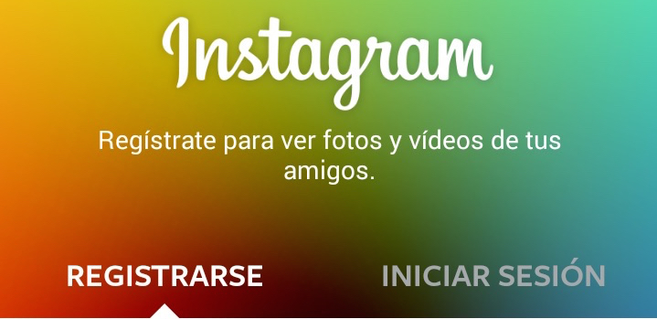 instagram registro