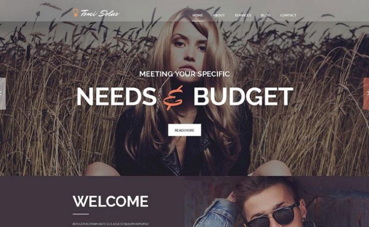 5 Mejores Temas de WordPress para Sitios de Fotografía | Instagram ...