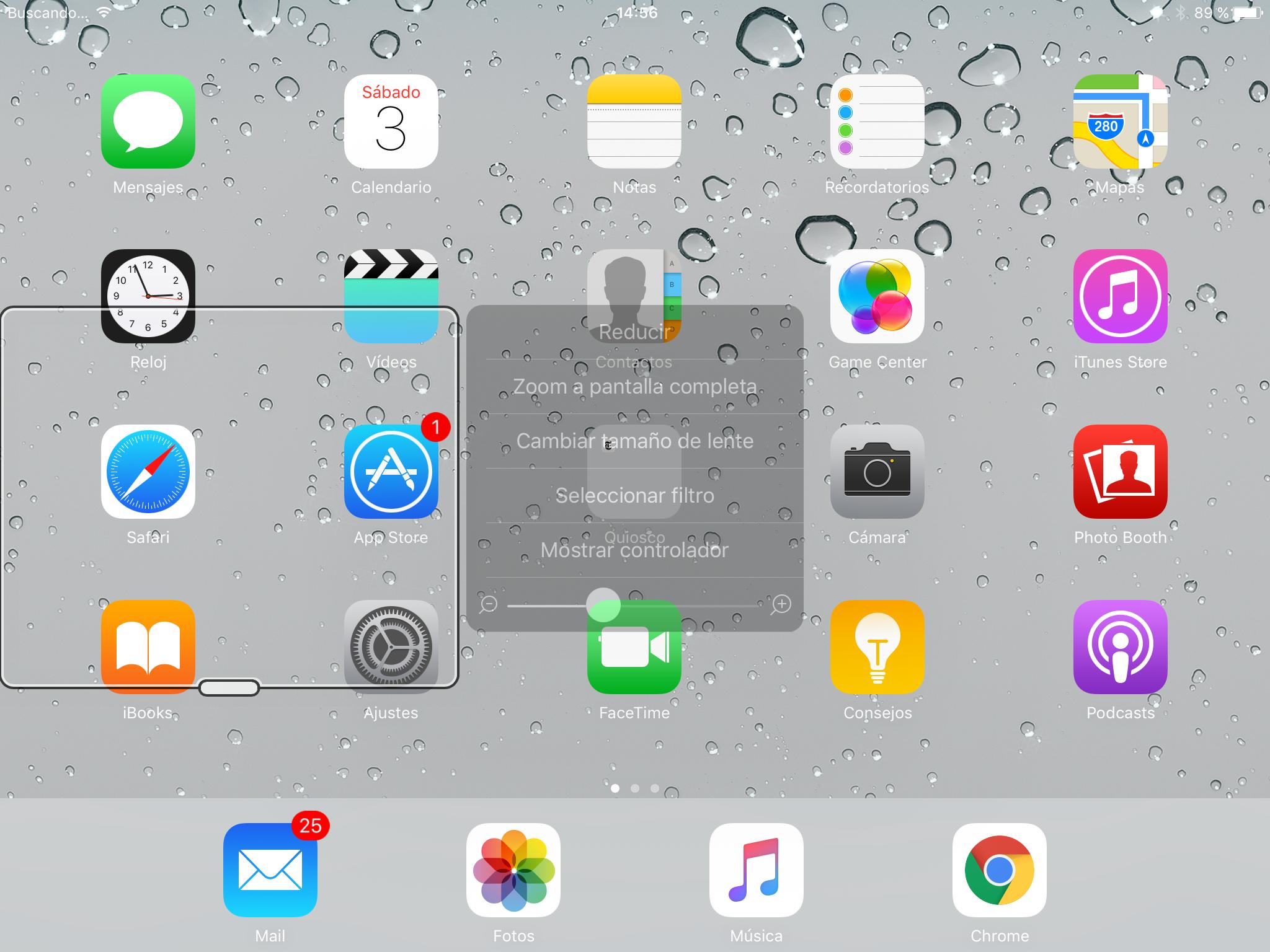 Configuración Zoom en Instagram iOS