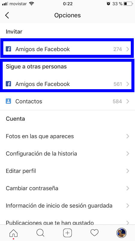 Buscar Amigos Instagram