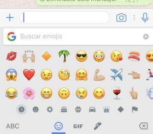 Buscar Emoticono WhatsApp