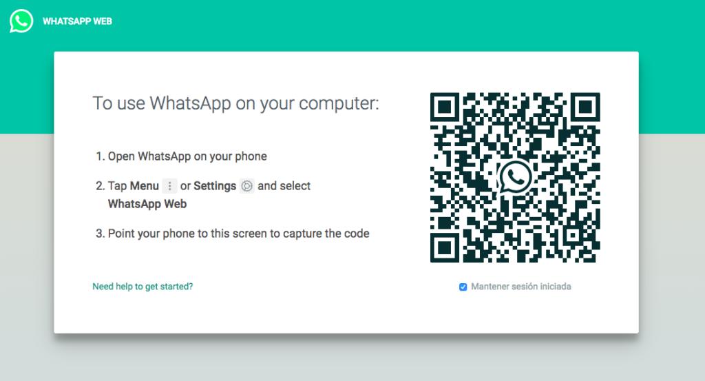 Crear cuenta Whatsapp desde PC QR