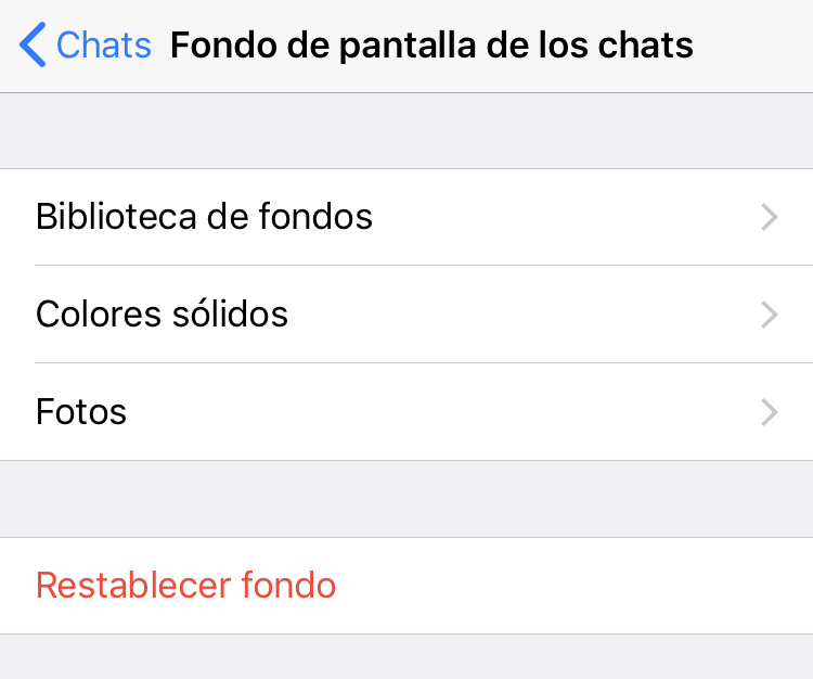 Fondos para Whatsapp