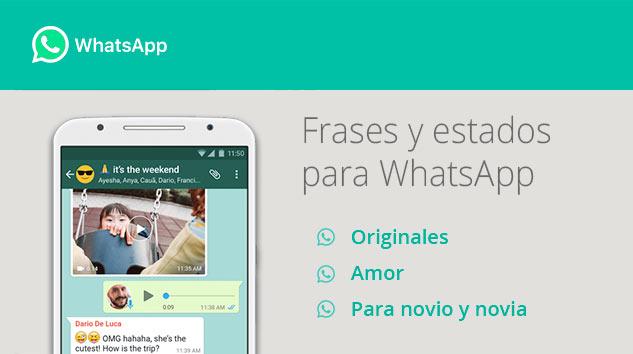 Frases Estados WhatsApp