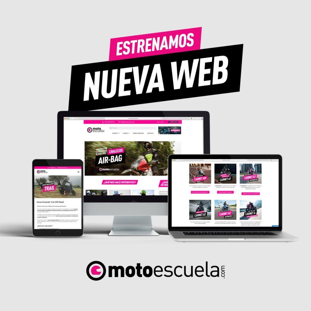 Nueva Web Motoescuela