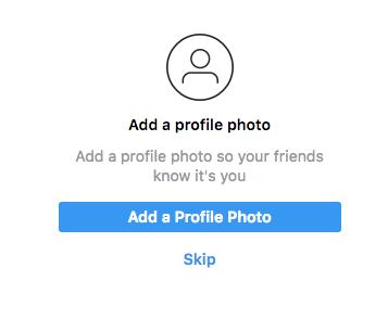 Registrarme en Instagram
