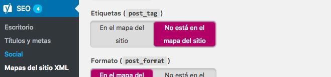 Taxonomias SEO WordPress