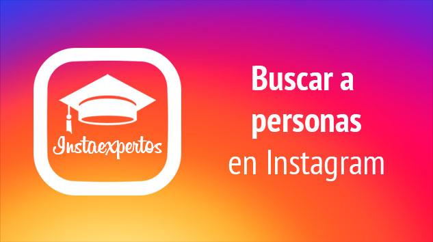 Como buscar personas en Instagram