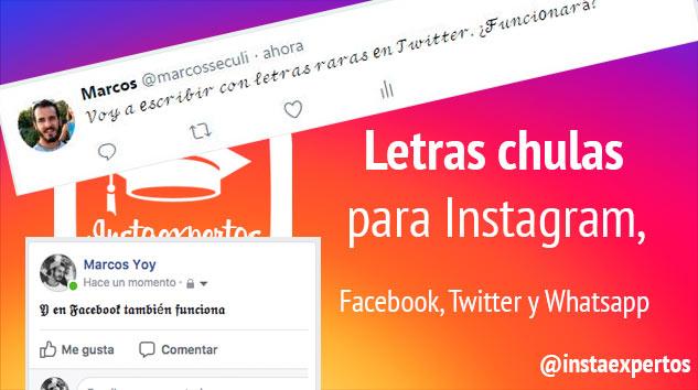 370 Tipos De Letras Para Instagram Facebook Twitter Y Whatsapp Y