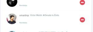 No me sigue Victor Martín