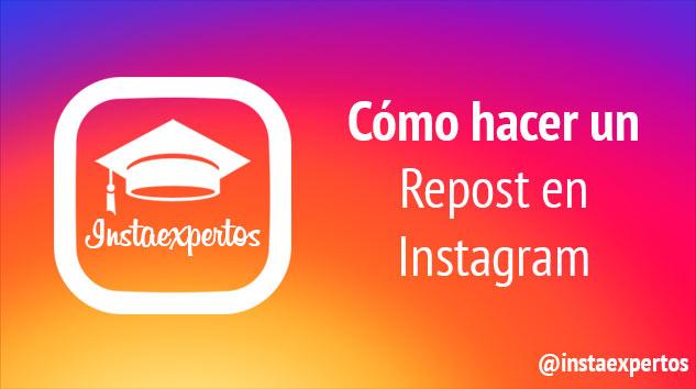 Repost en Instagram