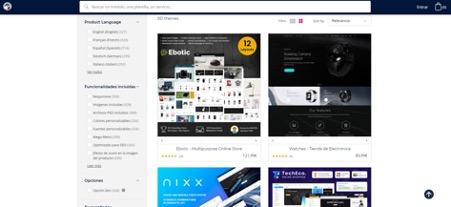 Wordpress prestashop ecommerce